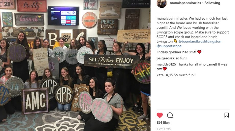 Create a local Paint Night