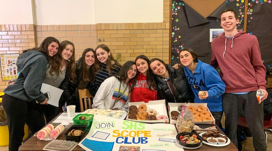 SCOPE bake sale at Scarsdale