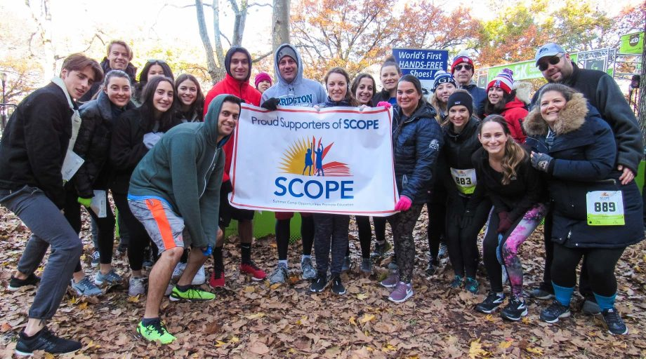 Strides 4 SCOPE 5K runners