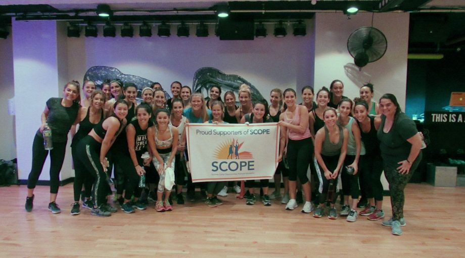 Young Professionals fitness class