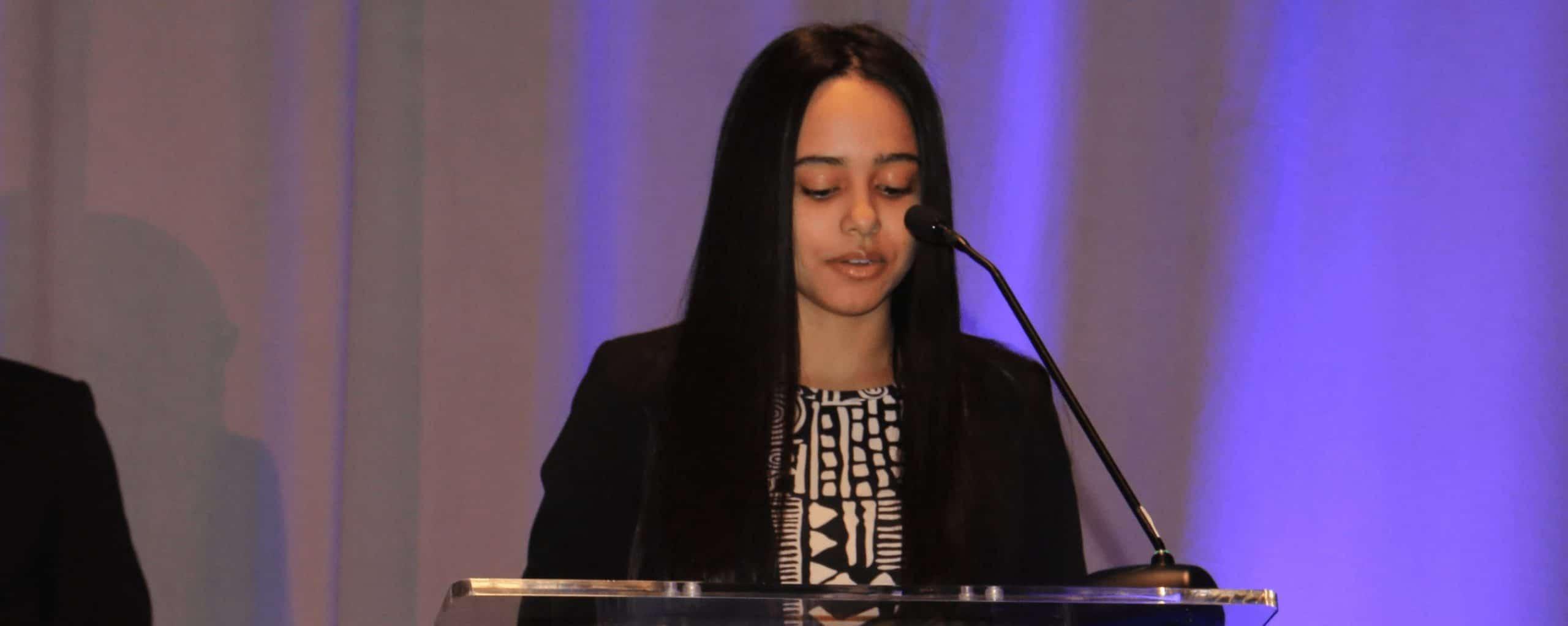 Ysaira speaking at SCOPE event