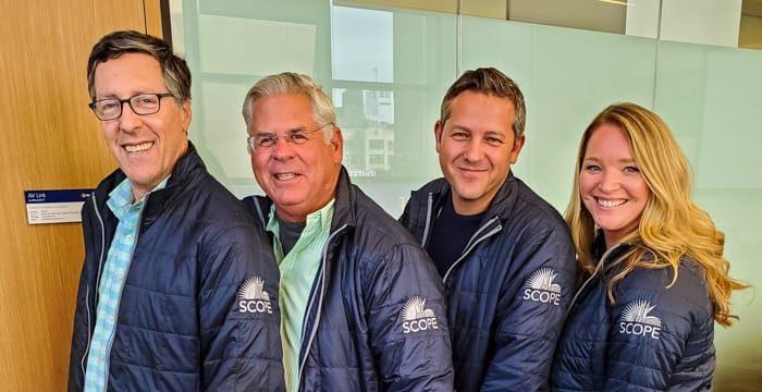 Four Board Members