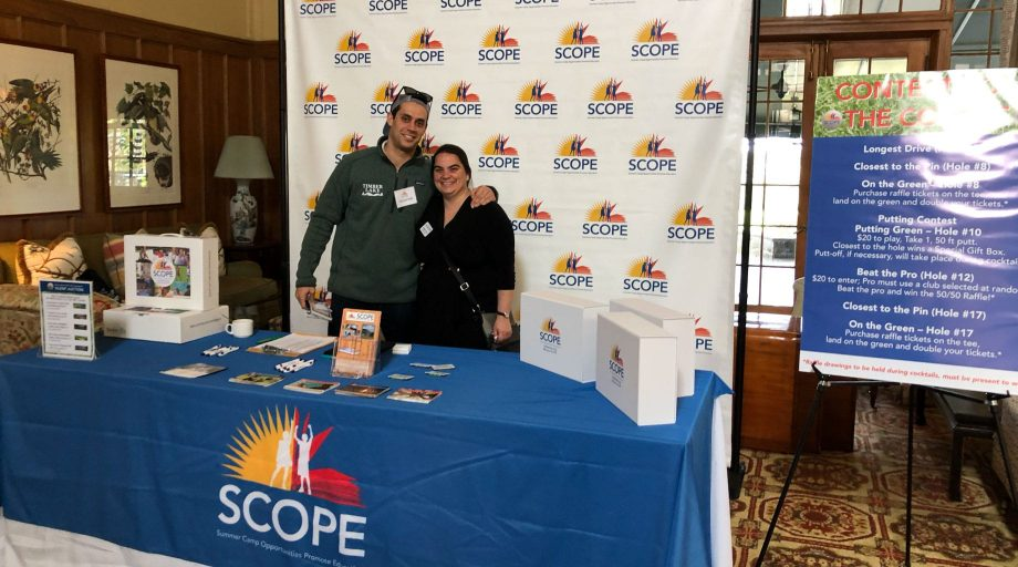 Heather and staff at a SCOPE event
