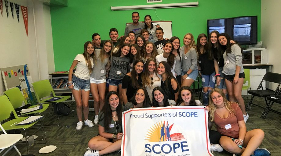 SCOPE Leadership Training group