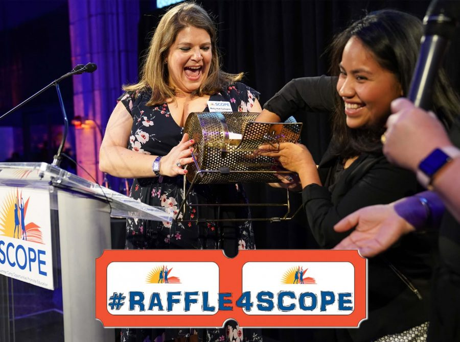 Women at Raffle4SCOPE event
