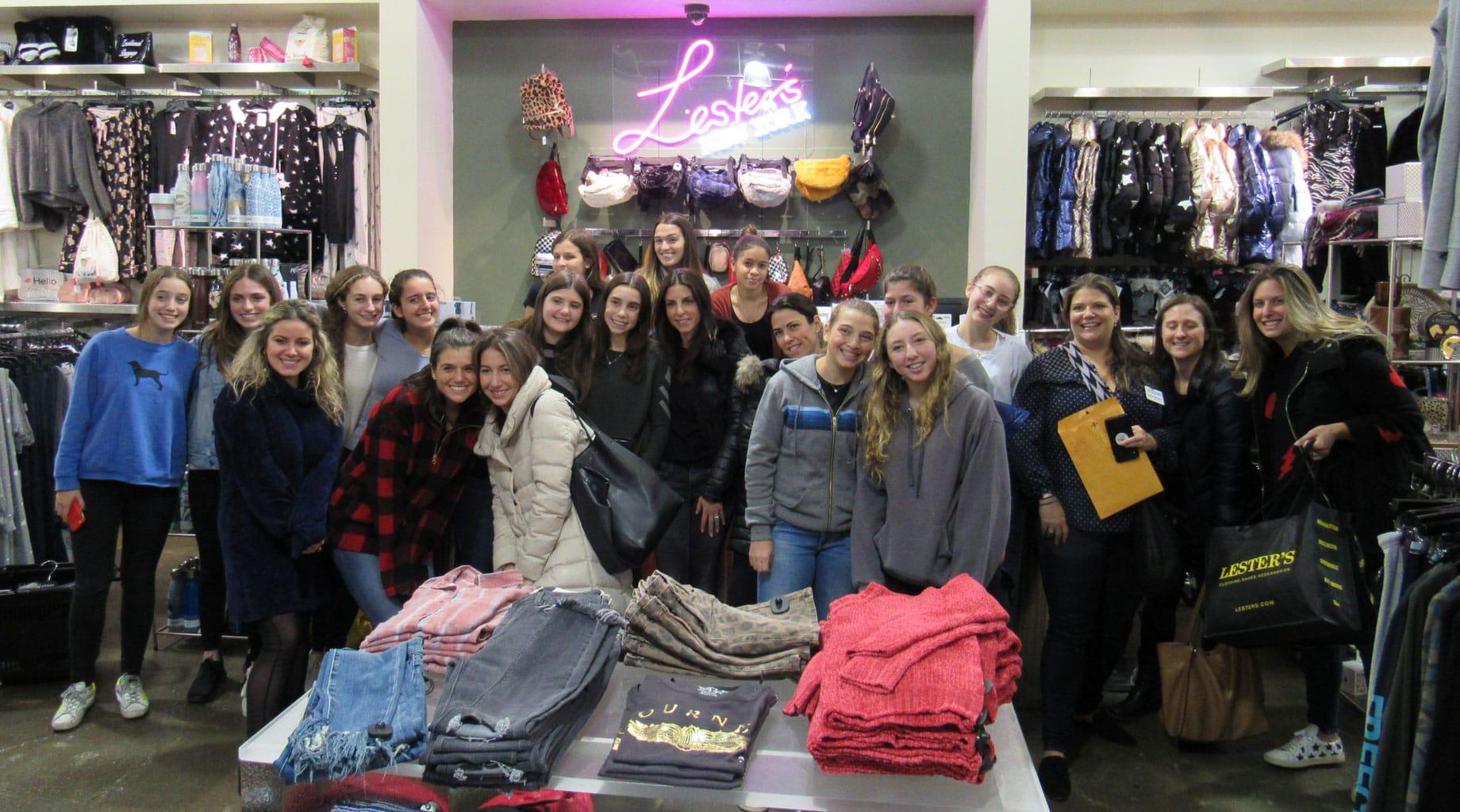 Shopping at Leslie's