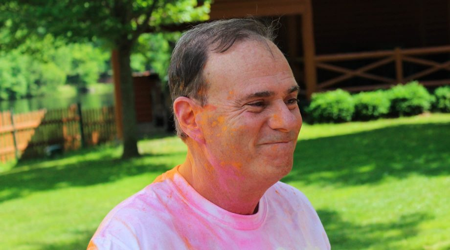 Jay Jacobs at the TLC Color Run
