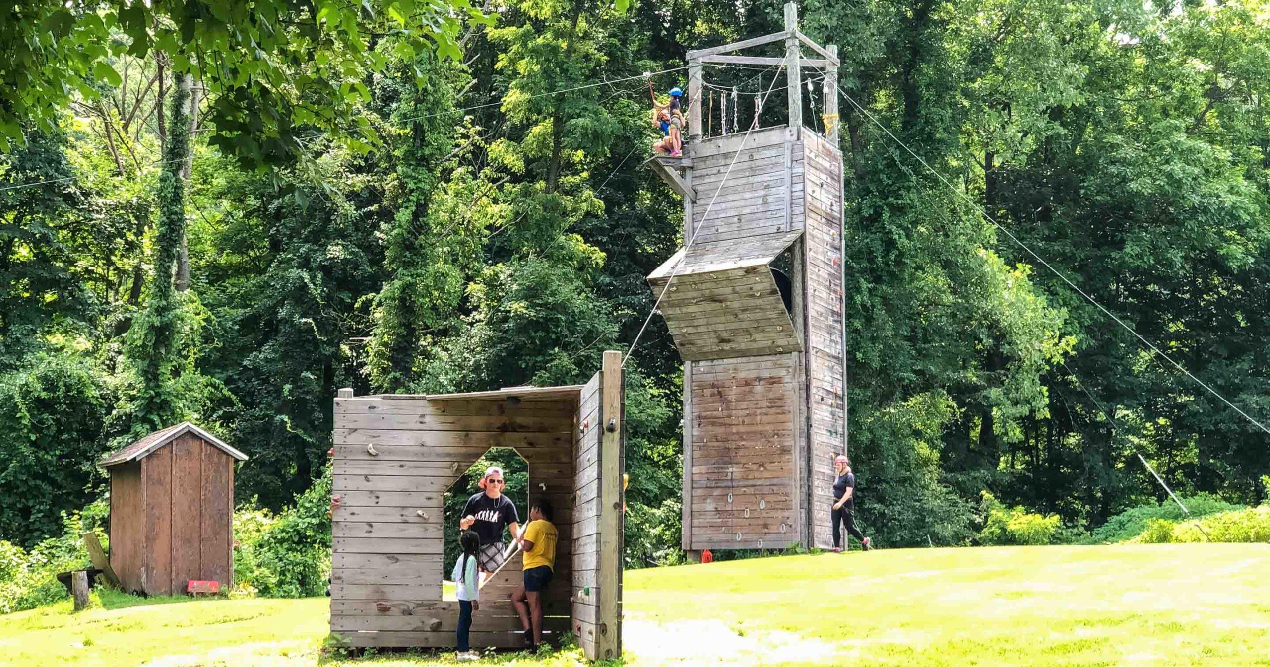 Climbing tower at Wilbur Herrlich