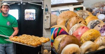 bagels at Bagel Boss