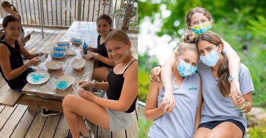 kids at Crestwood camp